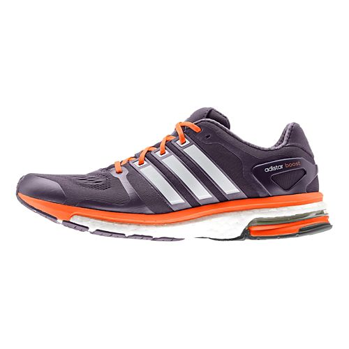 Womens adidas adistar Boost ESM Running Shoe - Purple/Orange 6.5