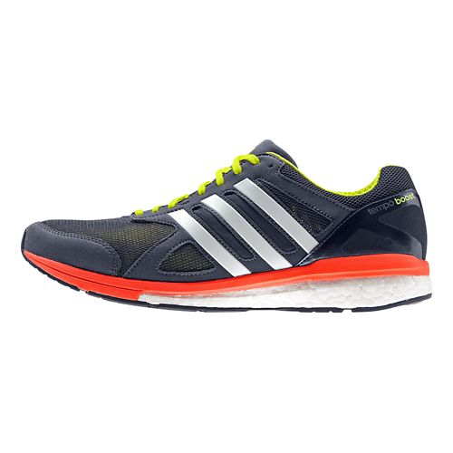 Mens adidas Adizero Tempo 7 Boost Running Shoe - Navy/Red 11.5