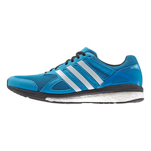 Mens adidas Adizero Tempo 7 Boost Running Shoe - Solar Blue/Black 6.5