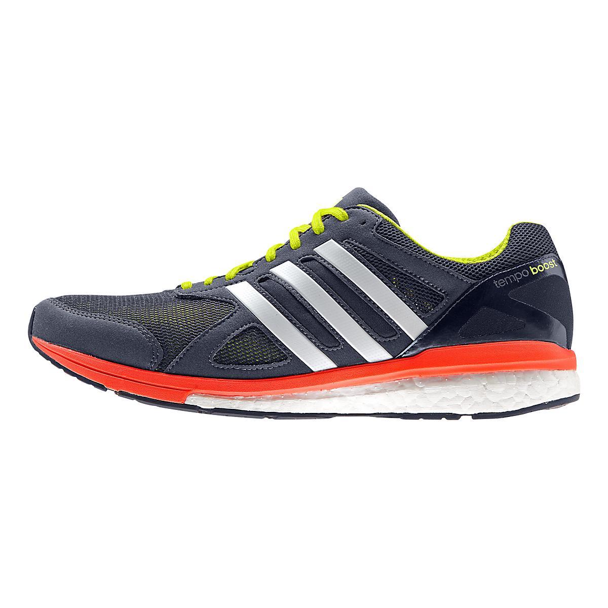 Mens adidas Adizero Tempo 7 Boost Running Shoe at Road