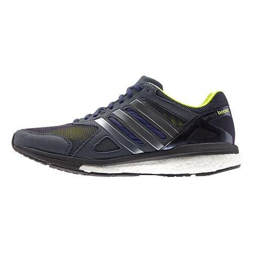 Womens adidas Adizero Tempo 7 Boost Running Shoe - Indigo/Yellow 10.5