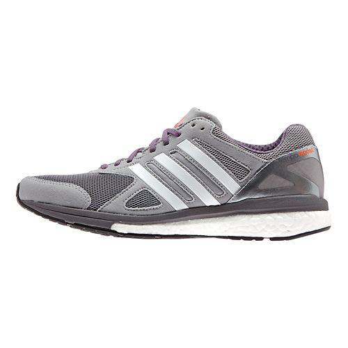 Womens adidas Adizero Tempo 7 Boost Running Shoe - Grey/Purple 7
