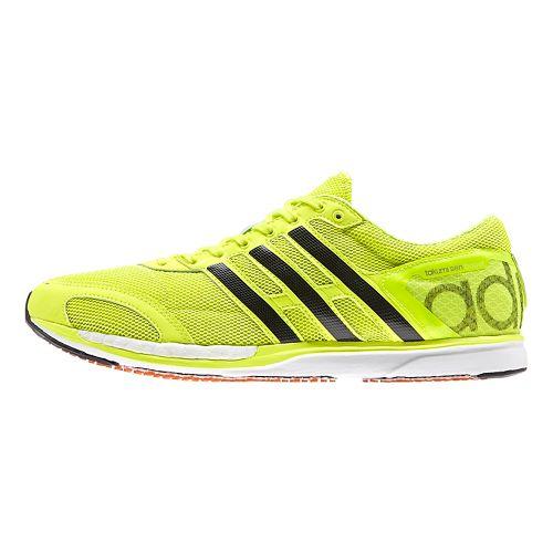 adidas Adizero Takumi-Sen 3 Boost Racing Shoe - Yellow/Black 10.5