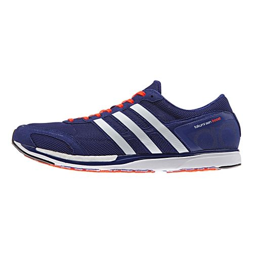 adidas Adizero Takumi-Sen 3 Boost Racing Shoe - Purple/Red 7.5