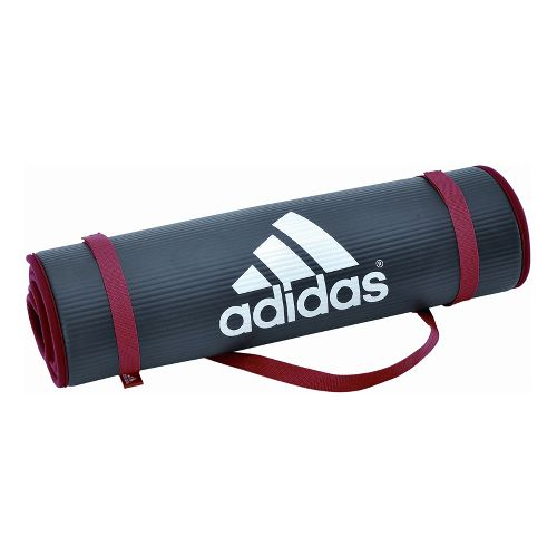 adidas Training Mat Fitness Equipment - Black/Red