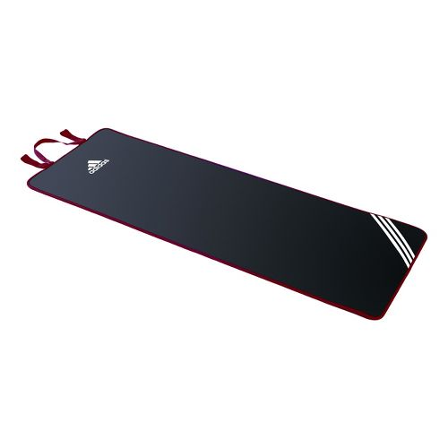 adidas Exercise Mat Fitness Equipment - Black/Red