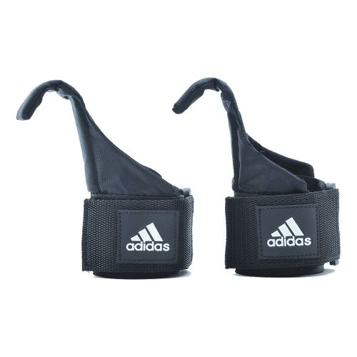 adidas Hook Lifting Straps Fitness Equipment - Grey