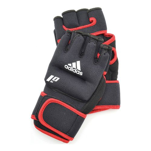 adidas Weighted Gloves Fitness Equipment - Black