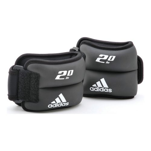 adidas Ankle/Wrist Weight 2 x 2 lb Fitness Equipment - Black