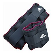 adidas Adjustable Ankle/Wrist Weights 5 lb . Fitness Equipment