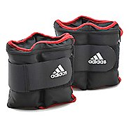 adidas Adjustable Ankle/Wrist Weights 10 lb. Fitness Equipment