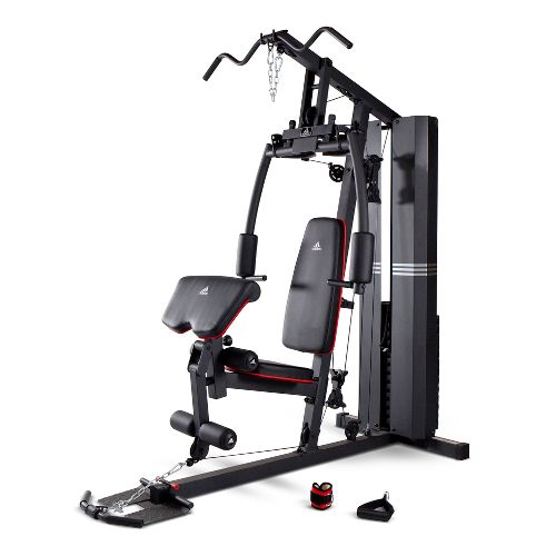 adidas 220 lb Stack Home Gym Fitness Equipment - Black