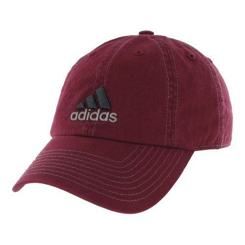 Mens adidas Weekend Warrior Cap Headwear - Cardinal/Sharp Grey