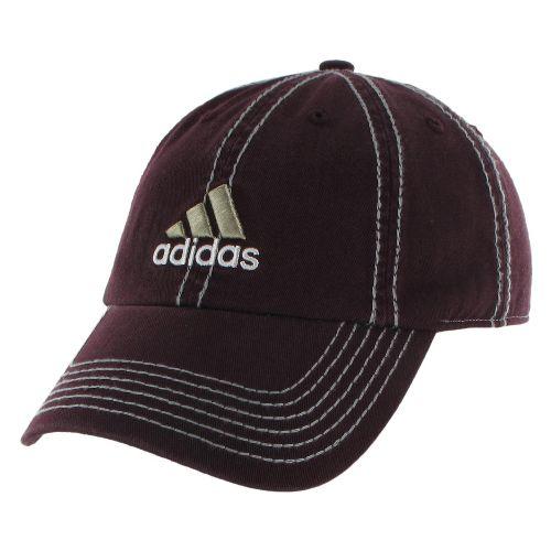 Mens adidas Weekend Warrior Cap Headwear - Dark Burgundy/Black
