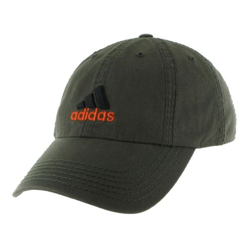 Mens adidas Weekend Warrior Cap Headwear - Earth Green/Orange