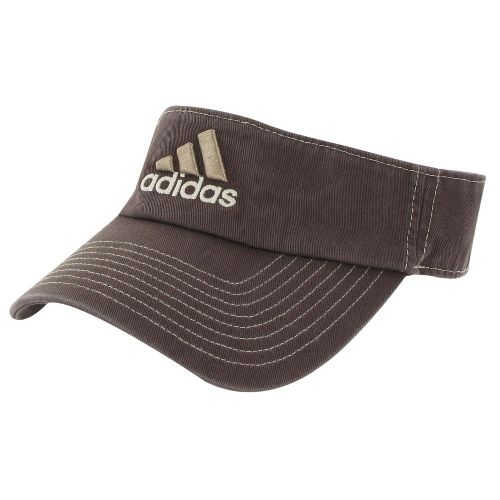 Mens adidas Weekend Warrior Visor Headwear - Espresso/Longhorn Orange
