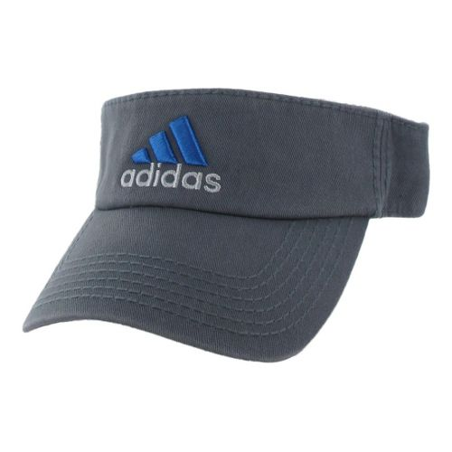 Mens adidas Weekend Warrior Visor Headwear - Lead/Blast Blue