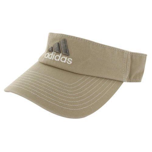 Mens adidas Weekend Warrior Visor Headwear - Washed Khaki/Explorer