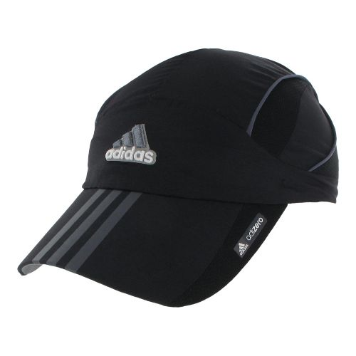 Womens adidas adiZero Sequence Cap Headwear - Black/Dark Onyx
