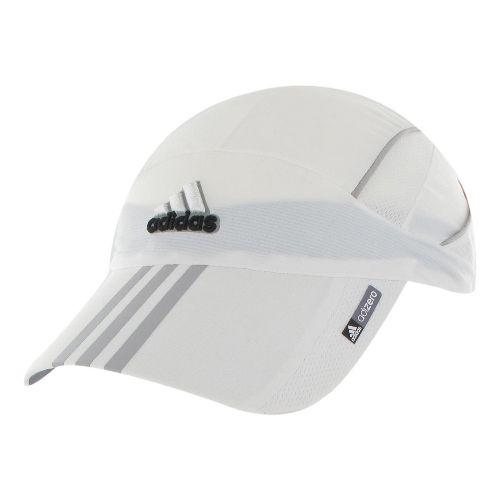 Womens adidas adiZero Sequence Cap Headwear - White/Black