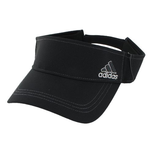 Womens adidas Athlete Visor Headwear - Black/White