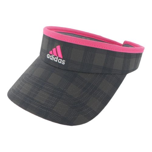 Womens adidas Match Visor Headwear - Sharp Grey/Ultra Pop
