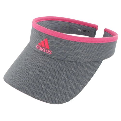 Womens adidas Match Visor Headwear - Tech Grey/Turbo