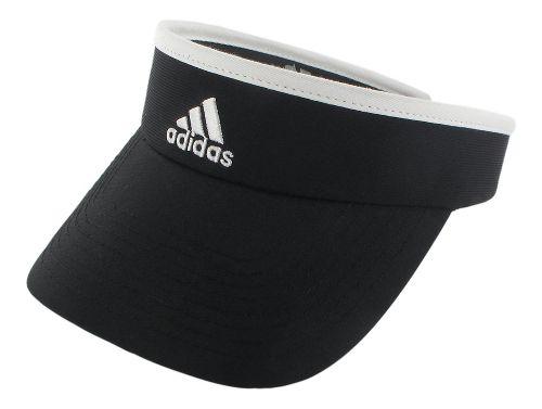 Womens adidas Match Visor Headwear - White/Black