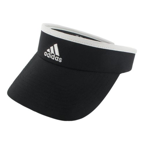 Womens adidas Match Visor Headwear - White/Black