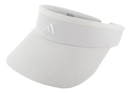 Womens adidas Match Visor Headwear - White/White