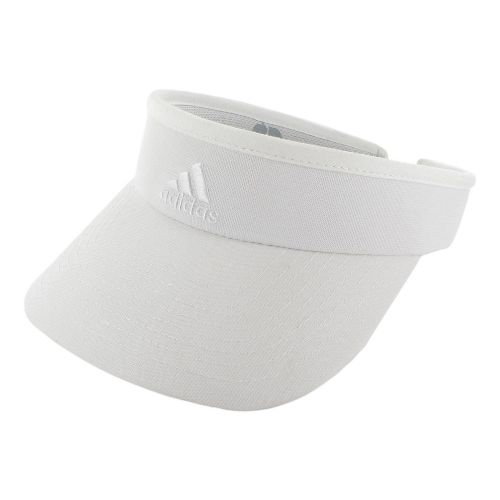 Womens adidas Match Visor Headwear - White/White