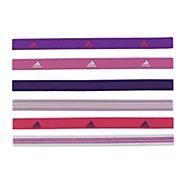 Womens adidas Sidespin Hairband 6pk Headwear