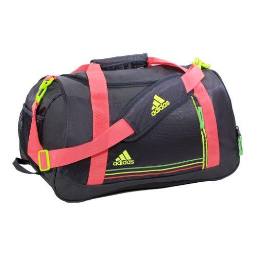 Womens adidas Squad Duffel Bags - Mercury Grey/Red Zest