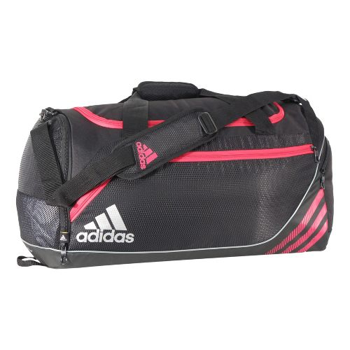 adidas Team Speed Duffel Medium Bags - Black/Blaze Pink