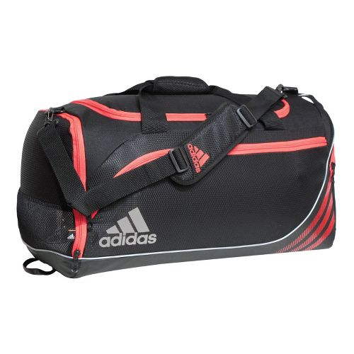 adidas Team Speed Duffel Medium Bags - Black/Infra-Red