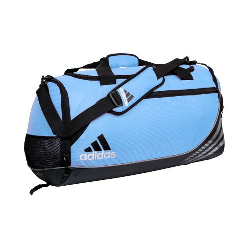 adidas Team Speed Duffel Medium Bags - Collegiate Light Blue/Black
