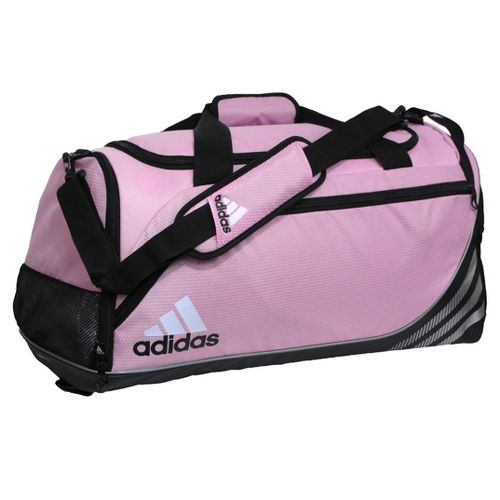 adidas Team Speed Duffel Medium Bags - Gala Pink/Black