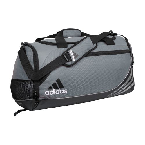 adidas Team Speed Duffel Medium Bags - Lead/Black