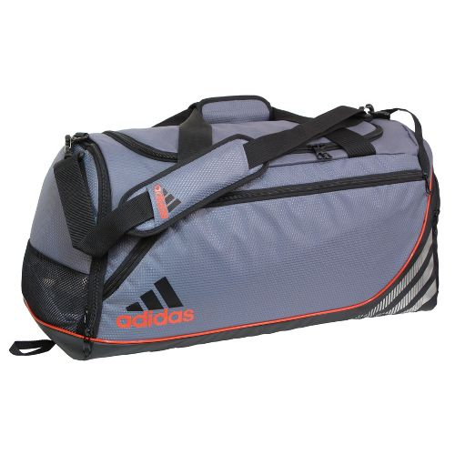 adidas Team Speed Duffel Medium Bags - Lead/Core Energy