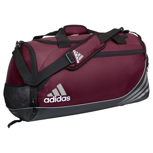 adidas Team Speed Duffel Medium Bags - Light Maroon/Black
