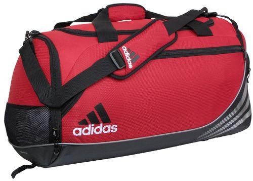 adidas Team Speed Duffel Medium Bags - University Red/Black