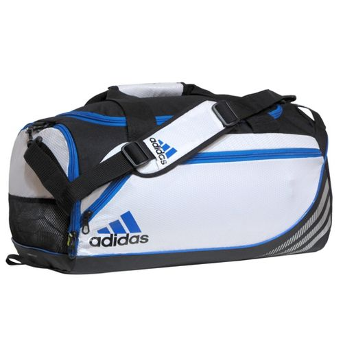adidas Team Speed Duffel Medium Bags - White/Bright Blue