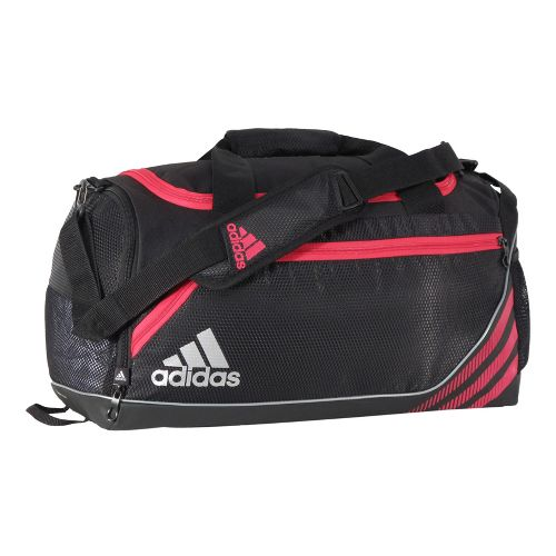 adidas Team Speed Duffel Small Bags - Black/Blaze Pink