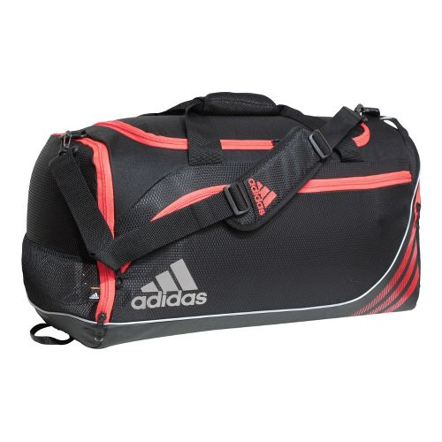 adidas Team Speed Duffel Small Bags - Black/Infra-Red
