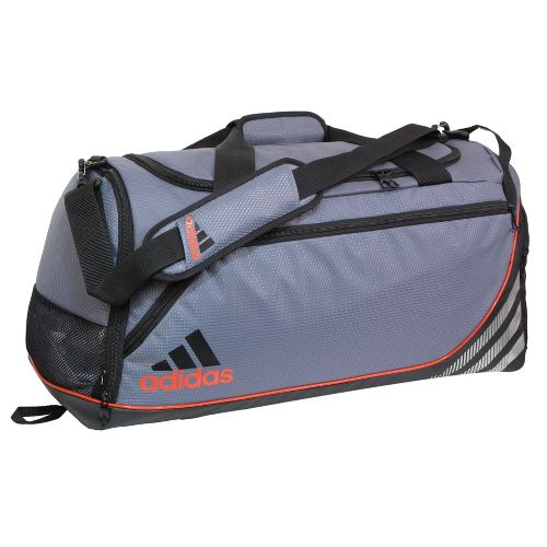 adidas Team Speed Duffel Small Bags - Lead/Core Energy