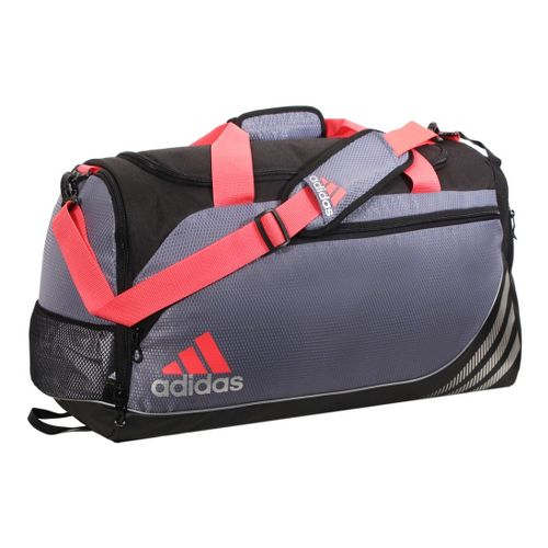 adidas Team Speed Duffel Small Bags - Lead/Red Zest