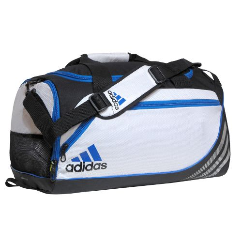 adidas Team Speed Duffel Small Bags - White/Bright Blue