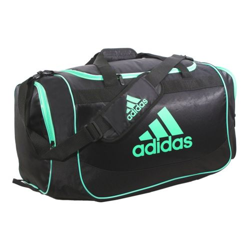 adidas Defender Duffel Medium Bags - Black/Green Zest