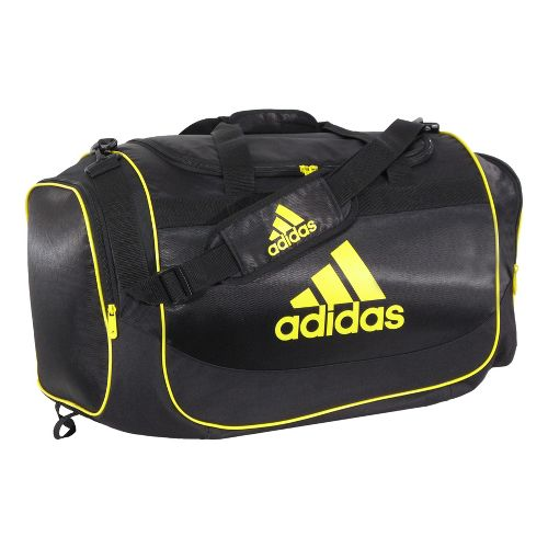 adidas Defender Duffel Medium Bags - Black/Vivid Yellow