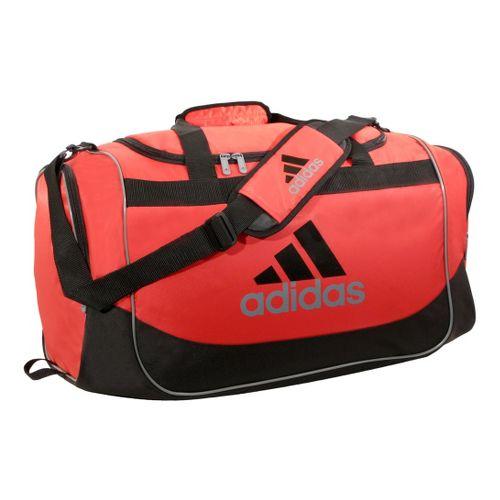 adidas Defender Duffel Medium Bags - Hi Res Red/Tech Grey